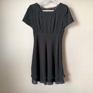 Donna Ricco Black Cocktail Dress
